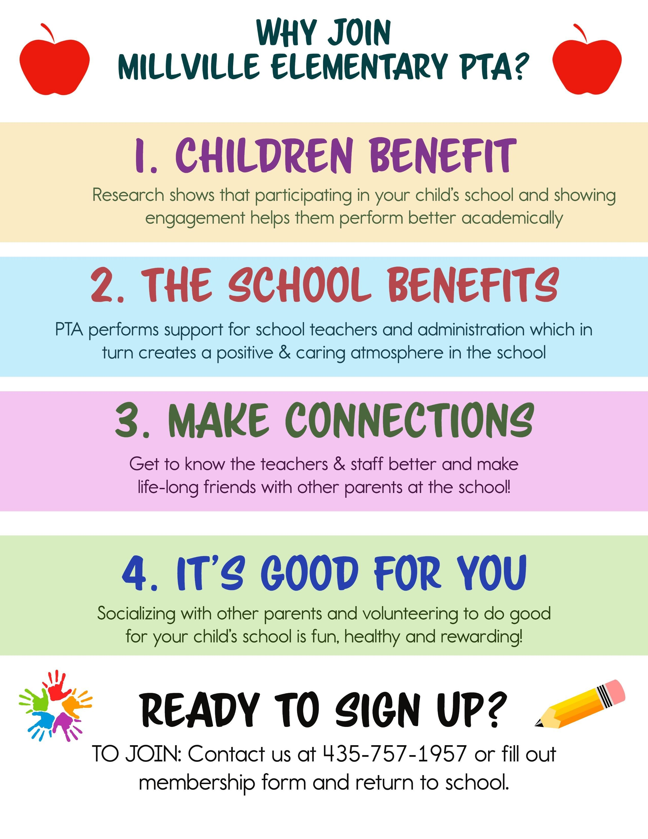 Why join the PTA