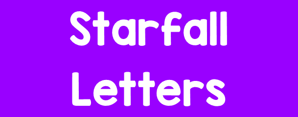 click here for Starfall letters