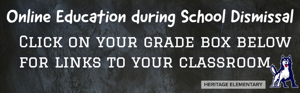 Click on your grade box for links to your classroom