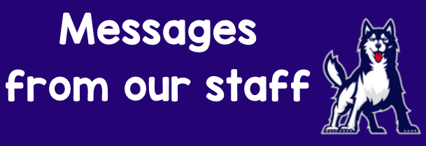 click here to download video messages from Heritage Staff