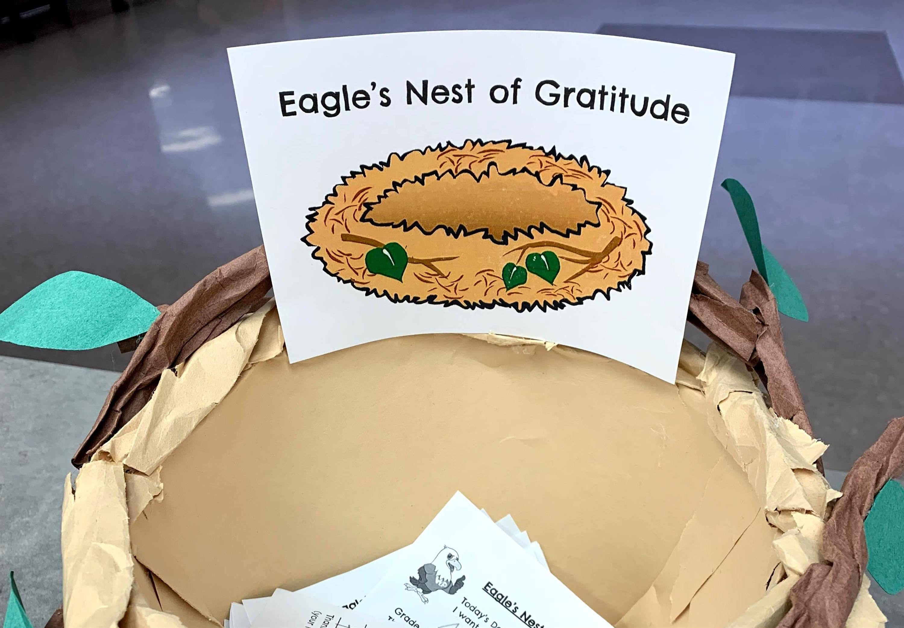 Eagle's Nest of Gratitude Nominations