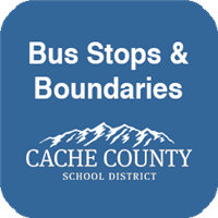 Cache County School District Bus Stops & Boundaries
