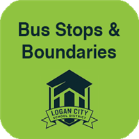 Logan City School District Bus Stops & Boundaries
