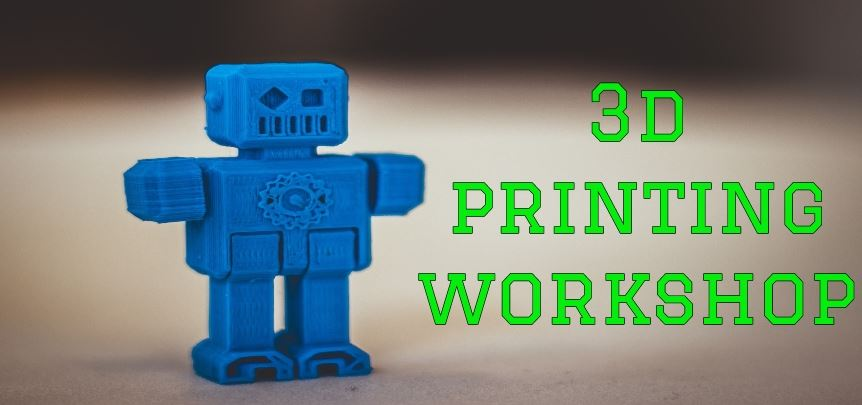 3D Printing Workshop...January 31st