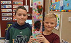 """Skin and Bones"" art project at Birch Creek Elementary promotes inclusion, teamwork, and collaboration"