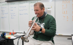 Green Canyon band director, Randall Beach, awarded prestigious Sorenson Legacy Award