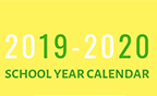 The 2019-20 District Calendar is now available