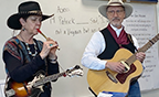 Cowboy Rendezvous presenters entertain students at Canyon Elementary