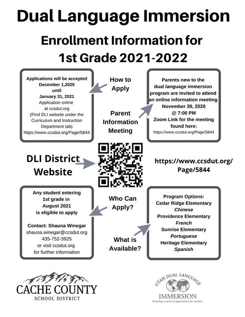 Cache County School District Calendar 2021-2022