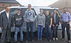 Members of the Green Canyon FFA Team