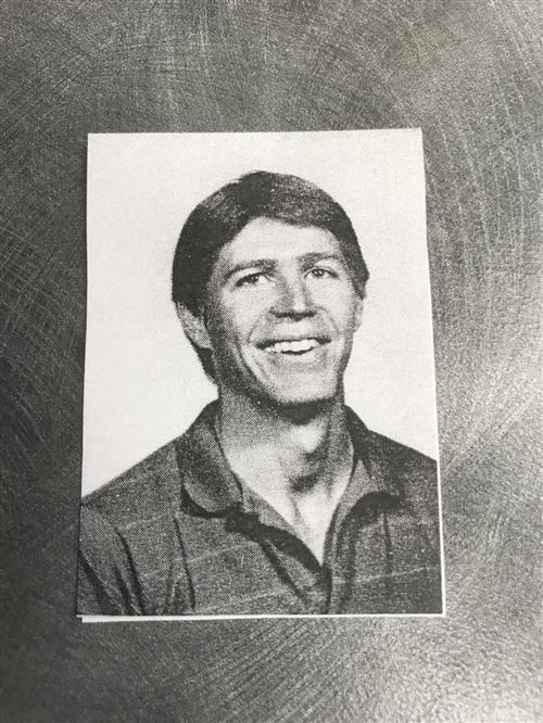 Curt Hanks as a young educator