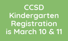 Kindergarten Registration is March 10 & 11