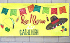 A sign for Cache High's Multicultural Night
