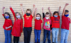 North Cache students dress up for Red Ribbon Week