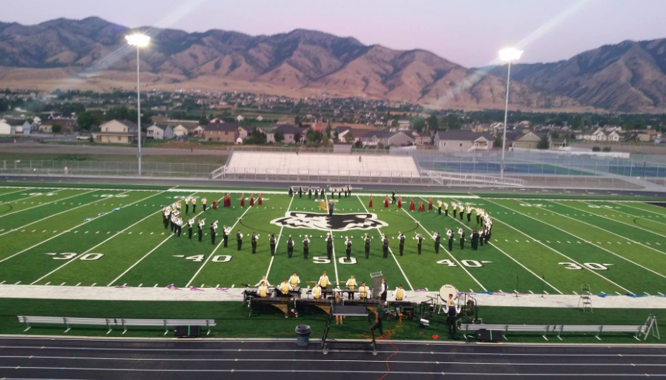 Green Canyon Band Marches Into the Spotlight