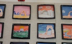 art projects at Canyon Elementary